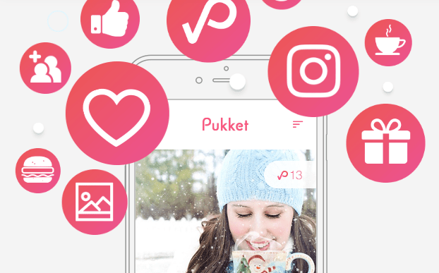 Pukket rewards social media word of mouth